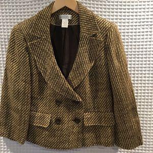 Worthington double breasted blazer. Size 8. New